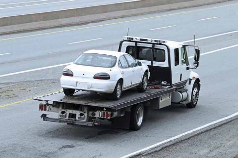 Towing service starting from $50, call for the estimate